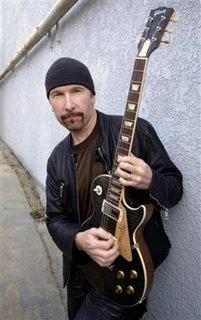 The Edge en The Guitar Center