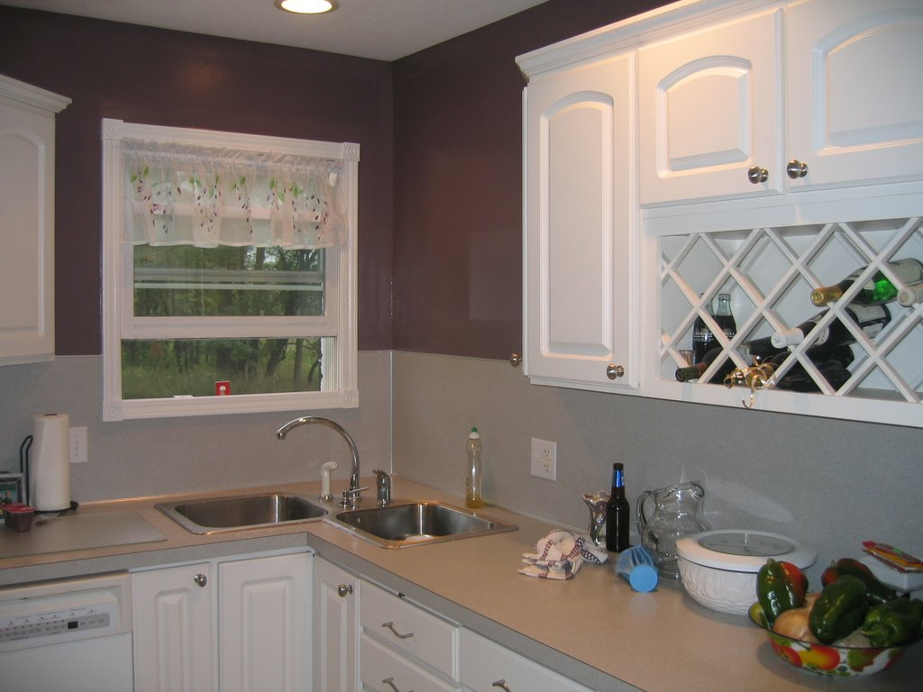 sherwin williams paint for kitchen cabinets adding shelves to ask the painting contractor chickie.: fine wine and poetry ...