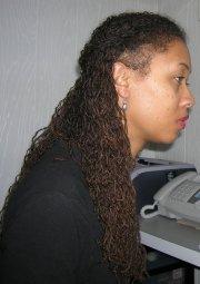 leighann's sisterlocks hair