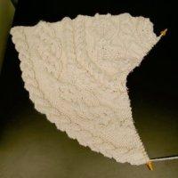 Handknit Holidays Aran Tree Skirt