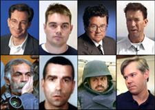 Miguel Gil, Julio A. Parrado o José Couso. Estos ocho periodistas murieron por su trabajo