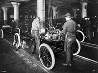 Model T assembly line