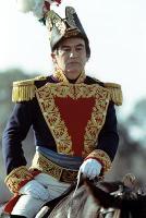 Santa Anna portrayed by Echeverria