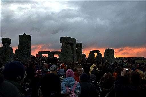 21 de Junho - Solstício de Verão em Stonehenge