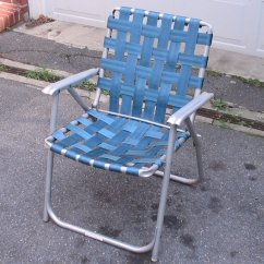 Webbing For Aluminum Folding Chairs Twin Sleeper Chair Ikea Wastelands Of Suburbia Seat Belt Lawn