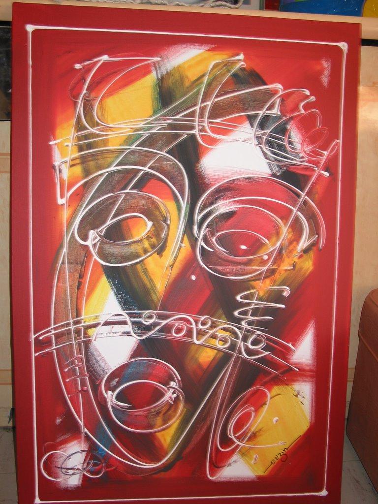 ouzin artiste peintre a montpellier  art moderne  art africain deco le pacha