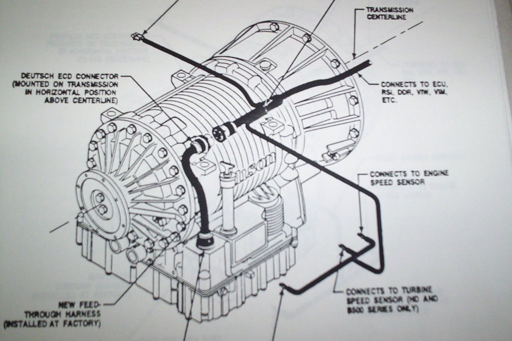 Allison Transmission 4500 Wiring Diagram