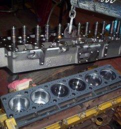 cat 3116 diesel engine cylinder head installation [ 1024 x 768 Pixel ]