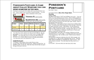POSEIDON'S POSTCARD PAGE TWO