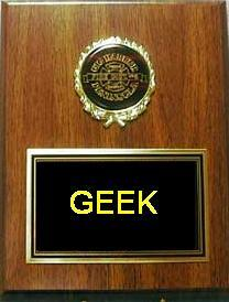 That's a geek alright
