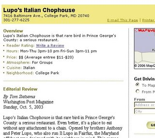Lupo's the Restraunt