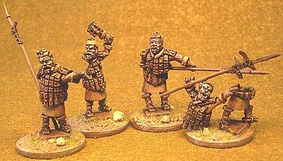 Terror-Cotta Warrior Zombies - Pack 1