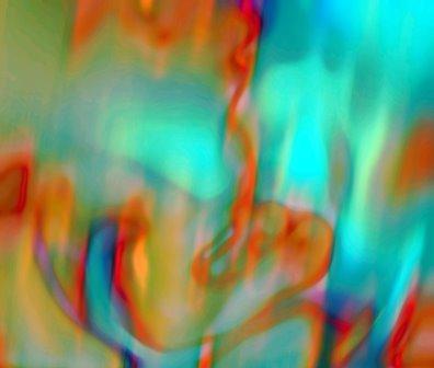 "digital painting ""Is it a smile or the tears?"" artist Tomas Karkalas"