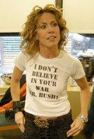 i don't believe in your war, mr. bush!