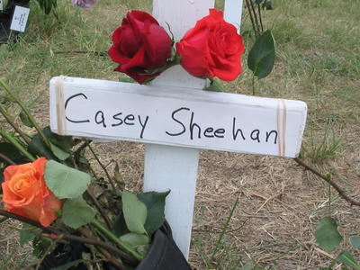 Casey Sheehan's Cross