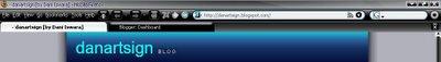 Firefox toolbar