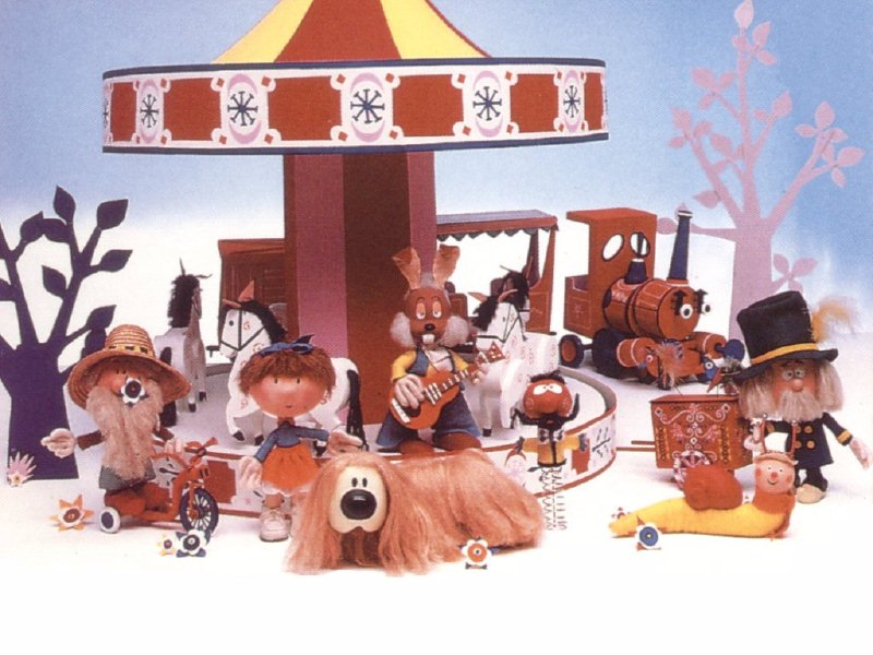 Image result for Mr McHenry magic roundabout