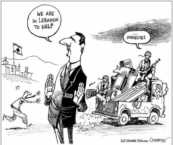 Lebanese Political Humor