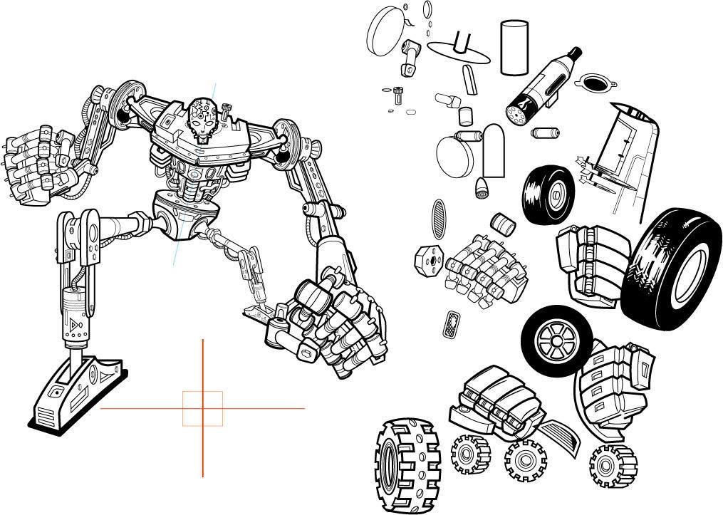 Robot Coupe R2 Repair Manual