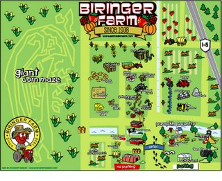 BIRINGER FARMS MAP by Rob Christianson