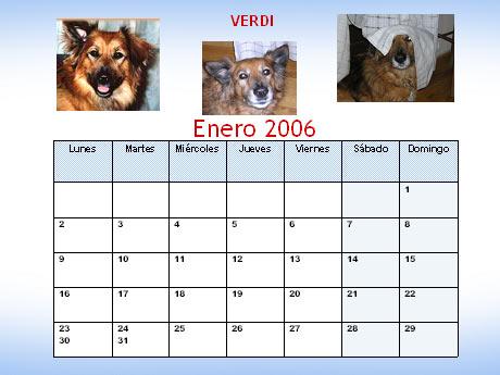 Calendario Perruno.Primer Calendario Perruno Bloggero 2006 Diario De Verdi