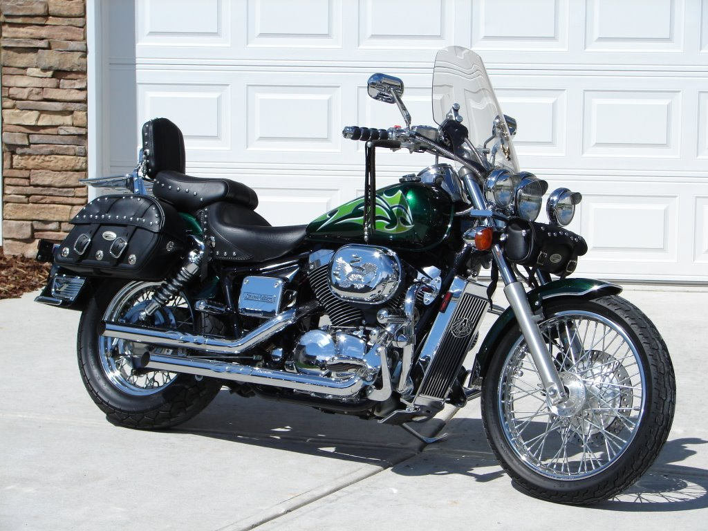 hight resolution of 2002 honda shadow spirit 750 fully customized