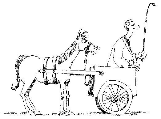 Image result for cart before the horse
