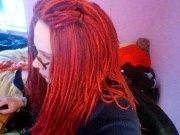 left in stitches yarn hair