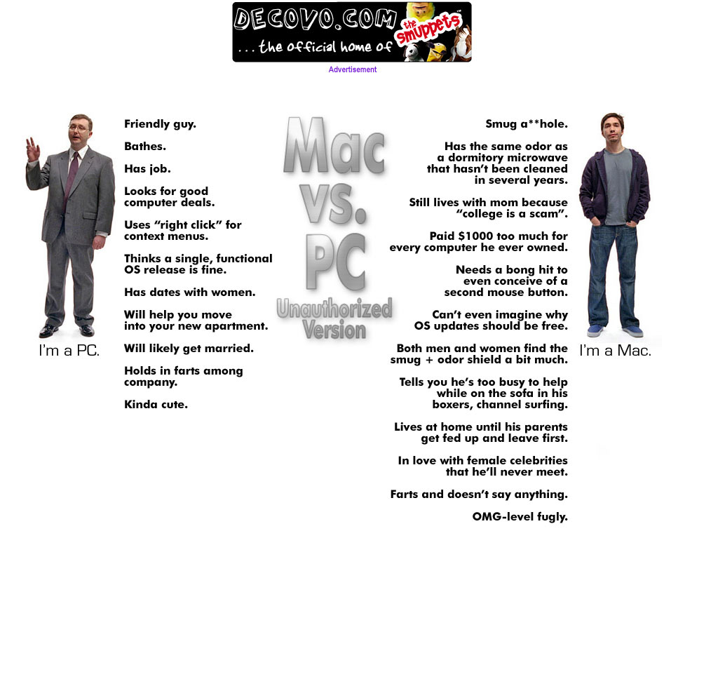 Pc Vs Mc