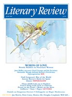 The cover of the June edition of Literary Review
