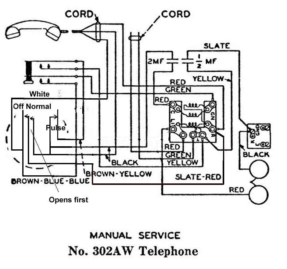 Western Electric 302 Wiring Diagram Western Electric Bell