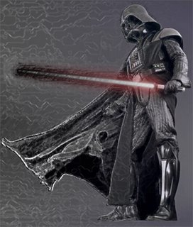 Darth Vader belongs to George Lucas; the photo manipulation concept however, is mine.