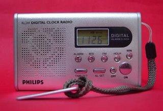 Philips RL241 Digital Clock Radio