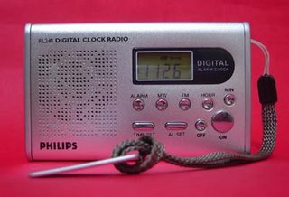 Philips RL241 Digital Clock Radio