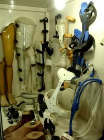 Prosthetic Limbs on Display