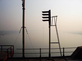 The river Yamuna near Kanpur