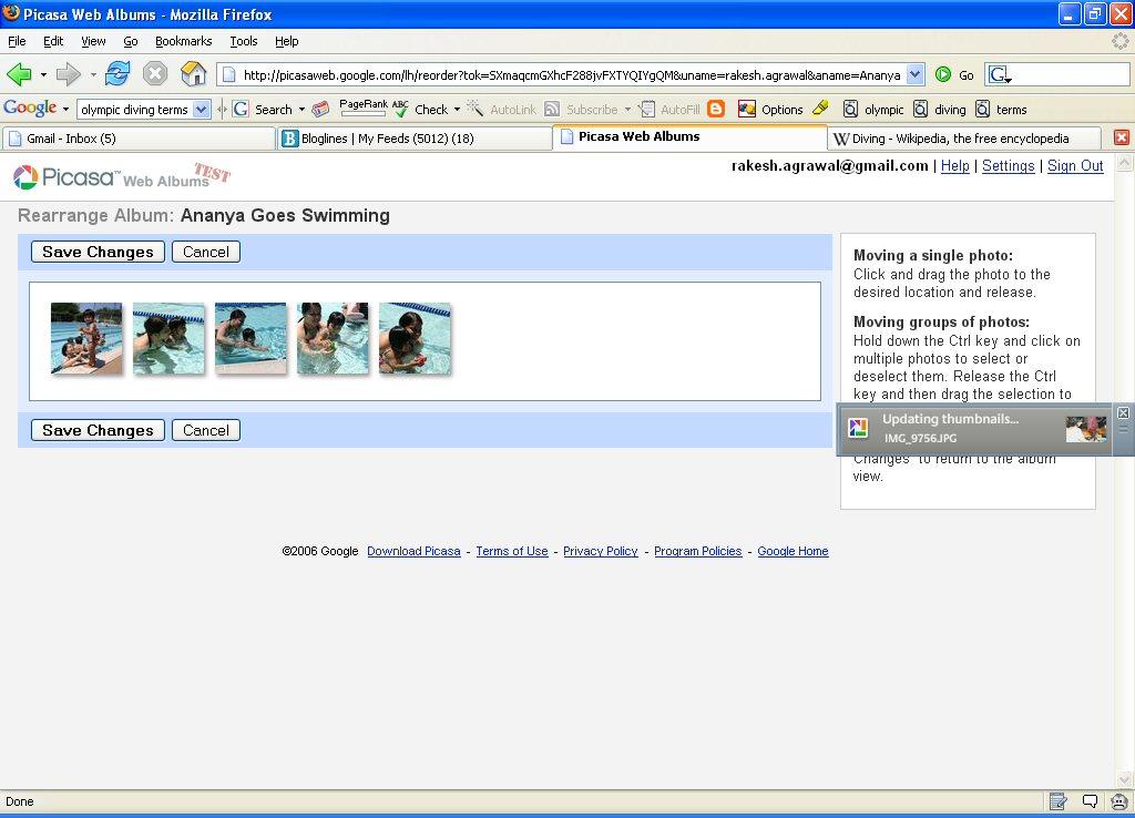 Picasa Web Albums: first look – Rakesh Agrawal's Blog
