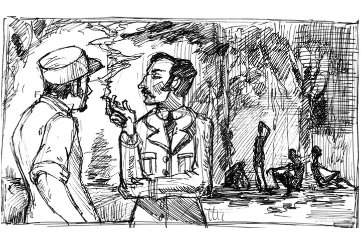 Image result for heart of darkness sketches from novel black africans