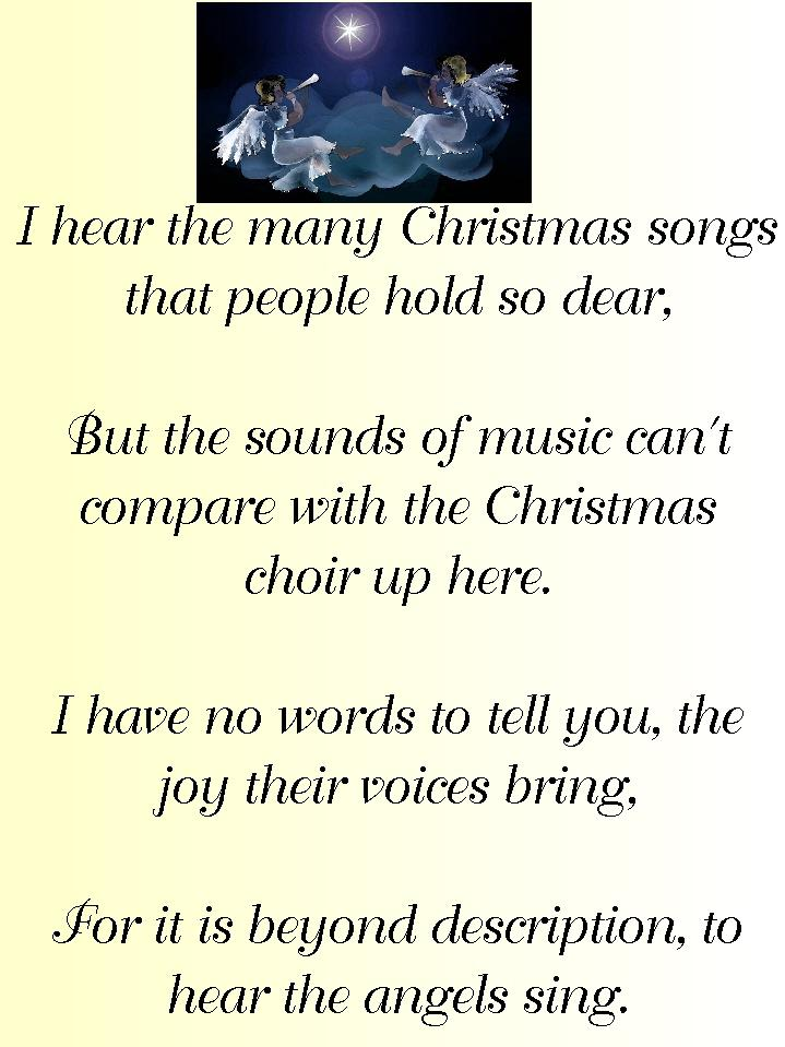 conservative by nature s favorite poems my first christmas in heaven