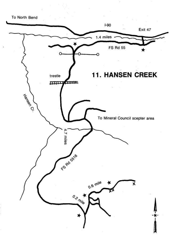 Lithophile: Hansen Creek Quartz Crystals