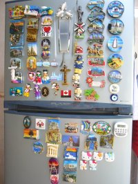 A simple life: Suckers for fridge magnets