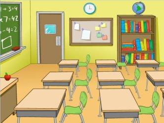 Cartoon Solutions: Classroom background