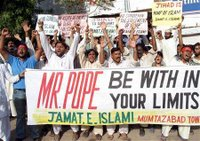 muslims deplore pope speech, want apology