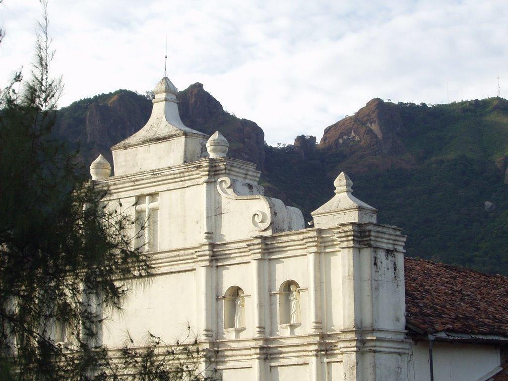 Arte Colonial Salvadoreo Iglesia Santa Cruz de Roma