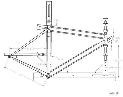 back40 bicycleworks: JIG Drawing