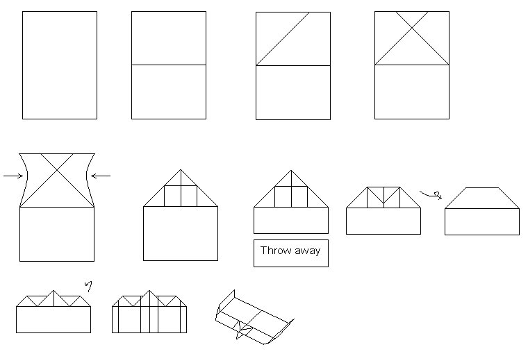 cool paper plane diagram 7 pin plug wiring airplane ideas compact