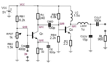Electronics Circuit Diagrams & Schematics: IF-Amplifier