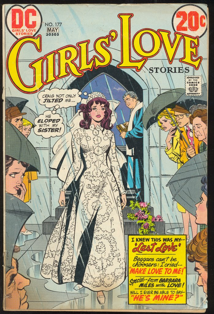 COMIC BOOK WEDDING COVERS FROM THE 1960s  1970s