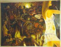 Cocorocols (óleo sobre lienzo, Bruno Tardito Stranz, La Herradura, Coquimbo, Chile, 1996)