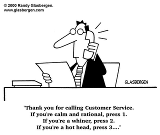 From a Whisper to a Scream: Customer Service Comics